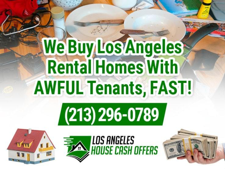 los angeles difficult tenants