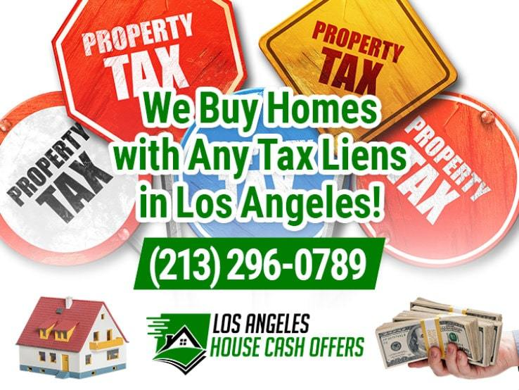 los angeles tax liens